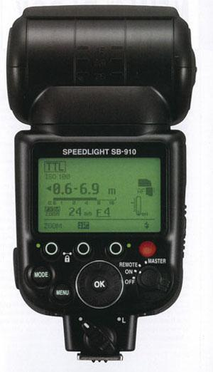 Nikon's flagship i-TTL (intelligent TTL) Speedlight