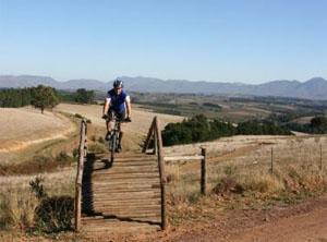 Oak Valley Mountain Bike Trail Route Elgin