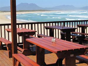 Sandown Blues Café Restaurant Bar, Main Beach, Kleinmond