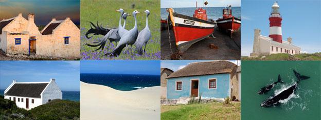 Sights around Napier, Cape Agulhas