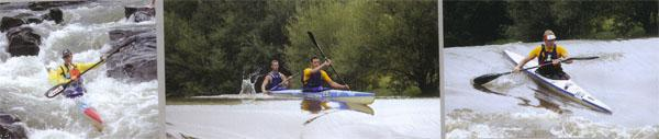 The paddlers now understand that and in the great old canoeing tradition, you paddle the river as you find it. The officials will however allow you to change a K2 entry to two K1 entries the night before the race, and many wise old dogs arrive in Underberg with a K2 and a pair of K1s on the roof, just in case.