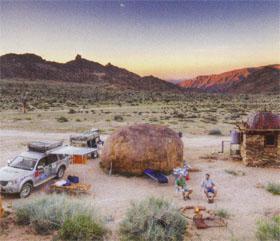 The beautiful Kokerboomkloof camp site