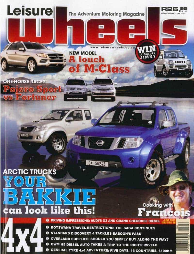 Leisure Wheels Tmb June 2012