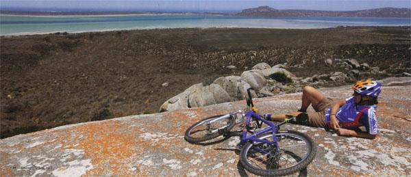 Day two takes riders through the spectacular West Coast National Park