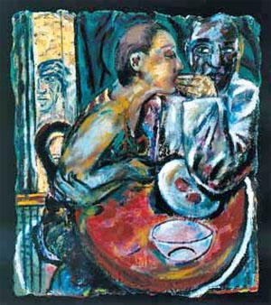 Eating, 1986-7 Deborah Margaret Bell