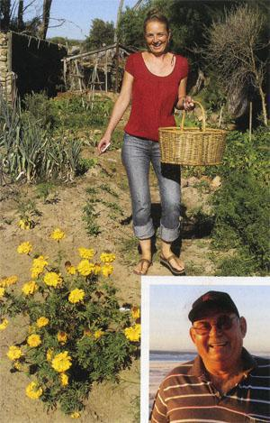 Lana Robertson and Anton Jordaan (insert) were both outsiders who fell under the spell of Elands Bay