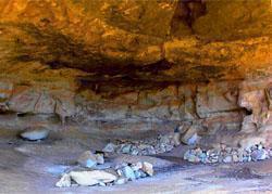 McKenzie's Cave, Mhkomazi Wilderness Area, KwaZulu-Natal