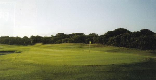 St Francis Bay Golf Club was designed by Robert Grimsdell and is known for its lush fairways and scenic views.
