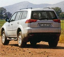 The Paj is a solid performer on dirt, due in large part to the fact that it shares its suspension with the regular Pajero.