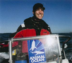 The ever-optimistic Steve Benjamin sports his characteristic grin after a fantastic dolphin encounter