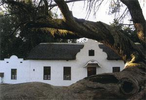 The old shop at Mamre, the Moravian missionary village where the trail starts