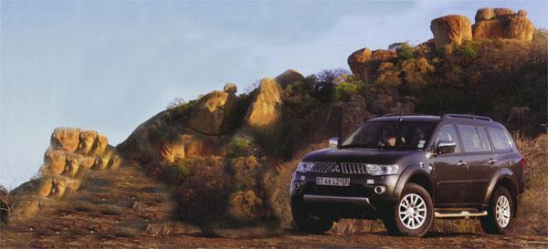 The Pajero Sport