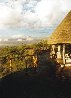 Campi ya Kanzi is owned outright by the Kuku Maasai community of the Chyulu Hills. Luca Belpietro, founder of both the lodge and the Maasai Wilderness Conservation Trust, simply pays a concession fee to operate it
