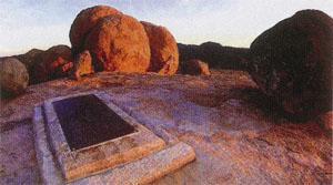 Cecil Rhodes grave Matobo Hills