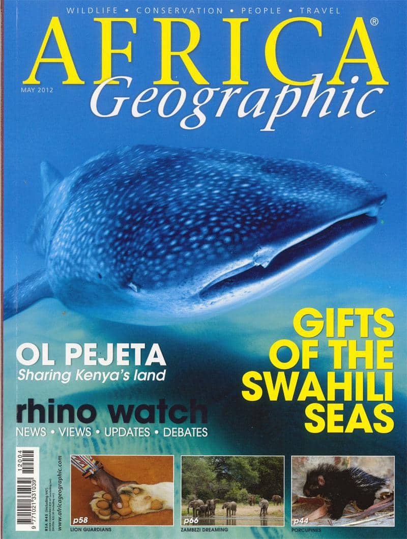 May 2012 Africa Geographic