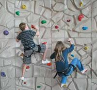 Events for kids - climbing wall