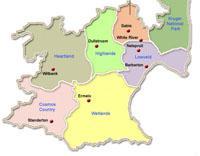 Mpumalanga Map of regions