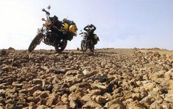 The rocky road to Moyale from Marsabit