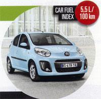 Budget Car Citroen C1 1,0i Attraction