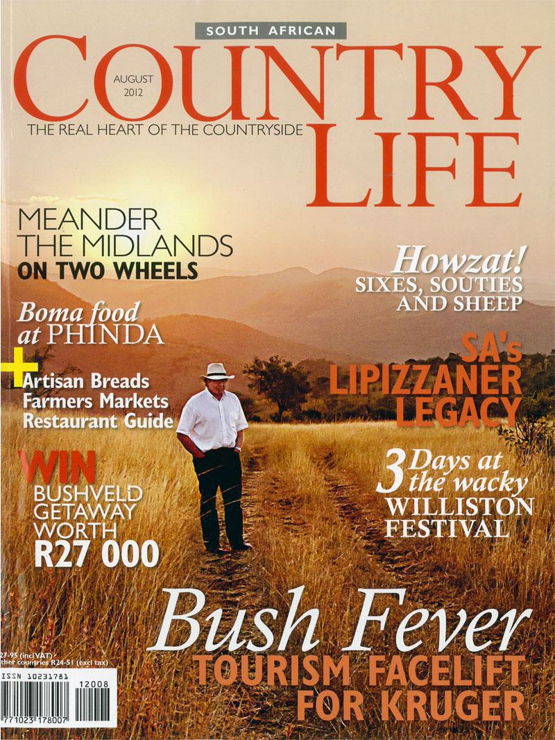 Country life August 2012