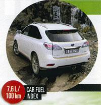 SUV Lexus RX450h XE AT