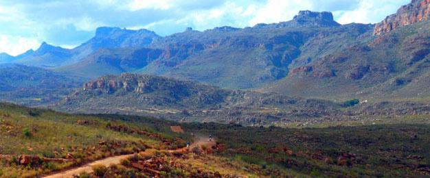 Motor Cycle the Cederberg, Western Cape