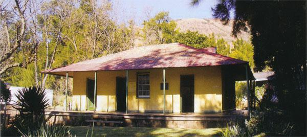 The Krugerhof museum in Waterval-Onder, where Kruger stayed for some weeks before travelling farther east. Today only the museum remains of the once beautiful little village.