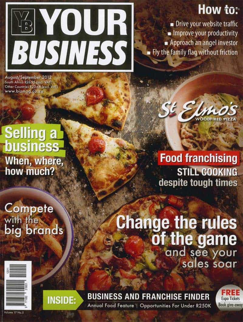 Your Business Aug/Sept 2012