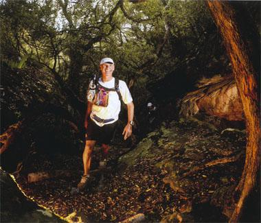 Negotiate the caverns, cliff edges and fynbos plains of the Oorlogskloof Trail Run, and you'll reach one of the most gorgeous patches of indigenous montane woodland in SA.