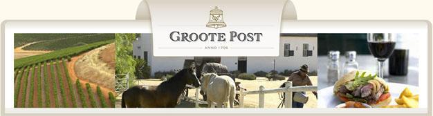 Groote Post Wine Cellars, Darling, West Coast