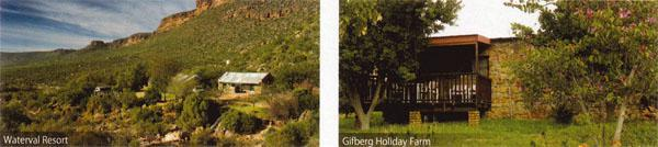 Were to stay - Waterval Resort and Gifberg Holiday Farm