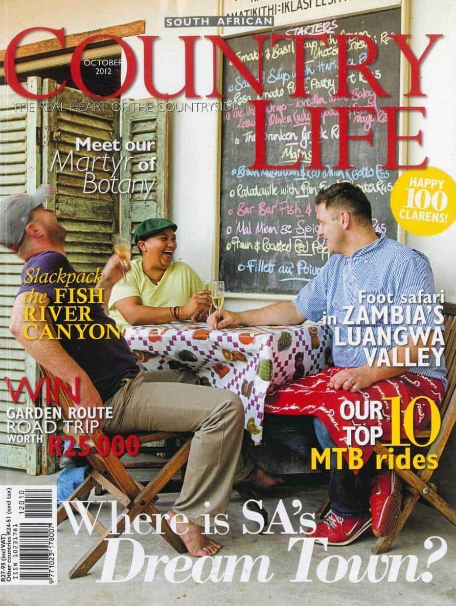 Country life October 2012