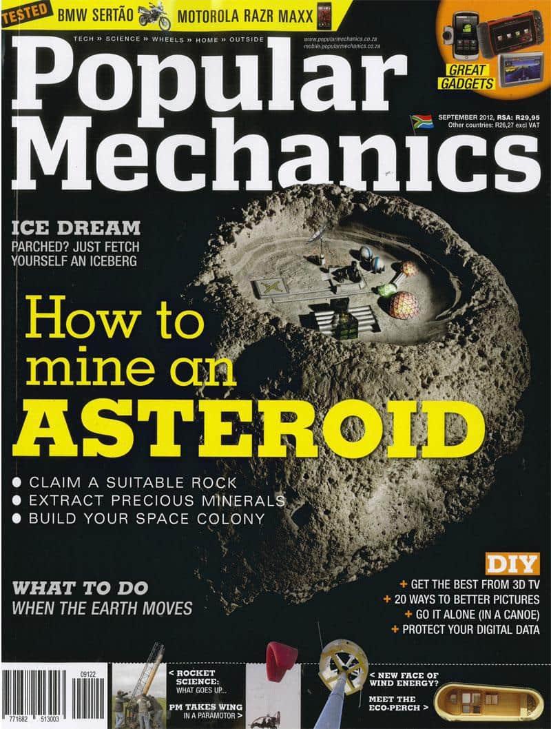Popular Mechanics September 2012