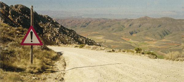 The 27-kilometre Swartberg Pass is a worthy challenge for the fit cyclist, and our current road builders might be interested to hear that Thomas Bain completed the pass ahead of schedule and below budget.