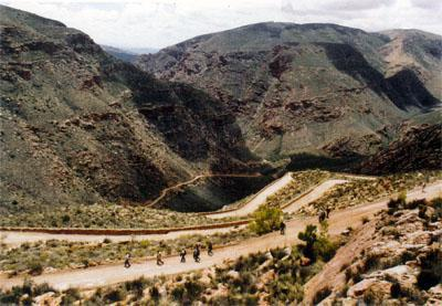 The Swartberg Pass was the last engineering masterpiece completed by Thomas Bain.