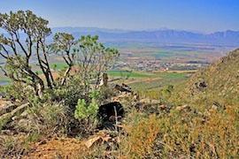 Thunberg Hiking Trail in the Kasteelberg, Riebeek Valley