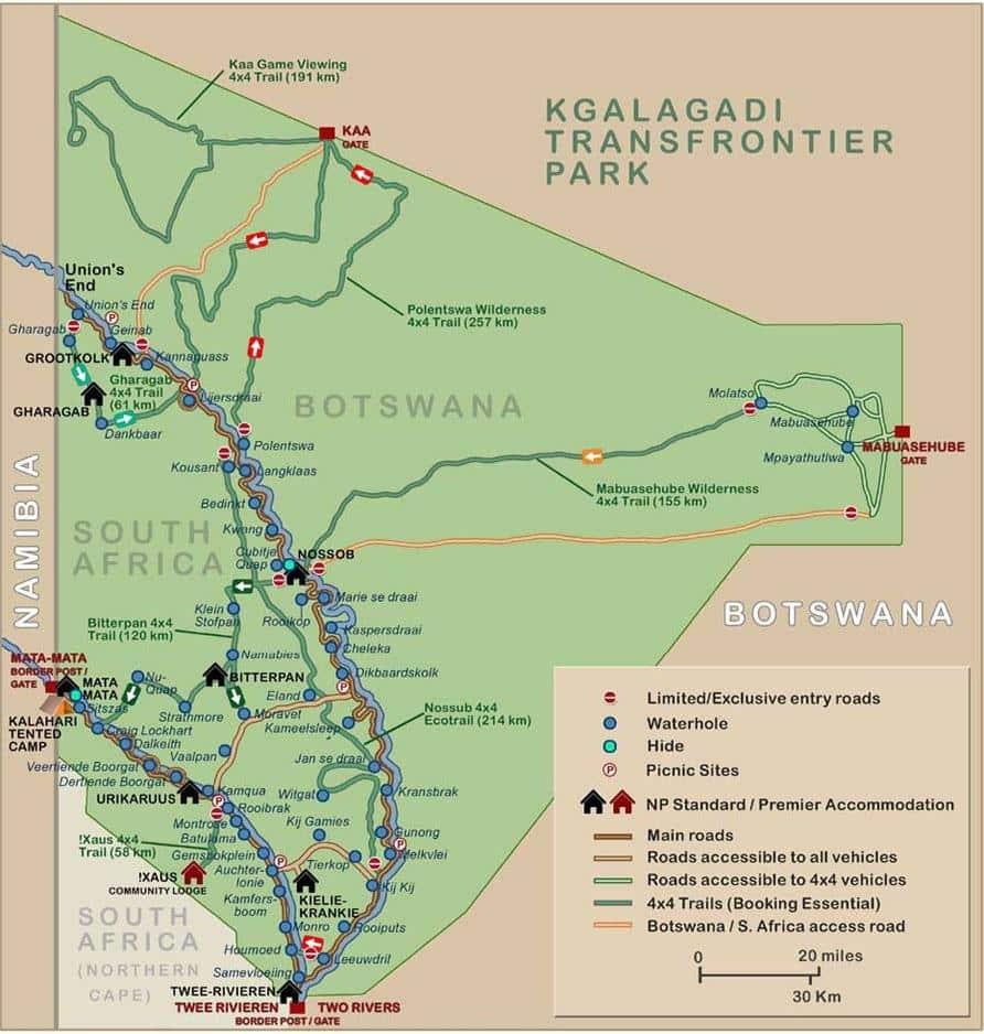 South Africa Kgalagadi