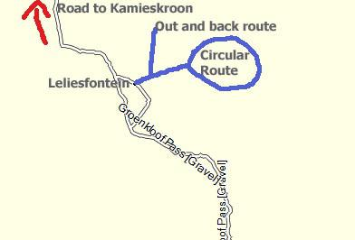 Leliesfontein Cycle Routes
