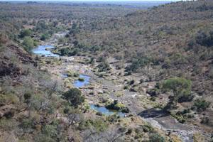 1. Nwanetsi Gorge offers one of the most spectacular views in all of Kruger.