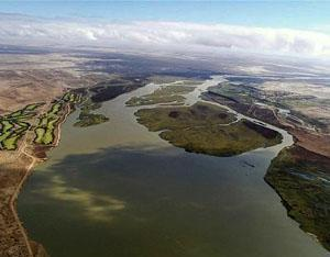Orange River Estuary, Alexander Bay