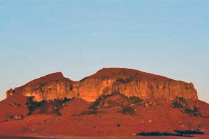 Rensburgkop, North Eastern Free State, South Africa - the 'Mountain' on the Bald Ibis Hiking Trail near Harrismith