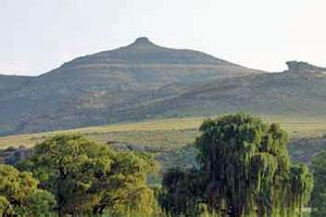 Tepelkop - focus of the Tepelkop Hiking Trail, Free State, South Africa