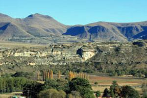 The Location of the Cannibal Hiking Trail near Clarens, Free State