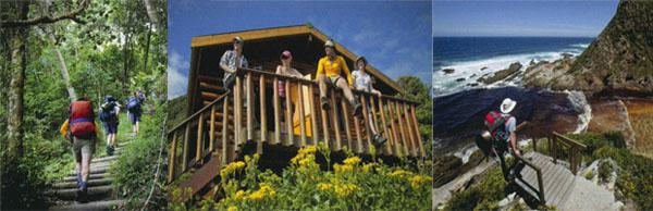 The five day Otter Trail is physically demanding and infinitely rewarding. Hikers need to be fit, as there are some tough climbs along the route, and crossing the Bloukrans River on the second-last day, sometimes requires a swim. Overnight accommodation is in basic, but comfortable wooden cabins.
