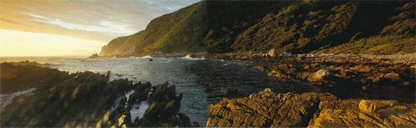 This stretch of attractive coastline is conserved by the parks Tsitsikamma marine Protected Area the oldest in the nation