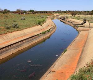VaalHarts Irrigation Scheme Canal