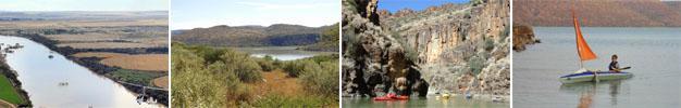 Vanderkloof Dam, Northern Cape Province scenery