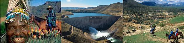 Visit Lesotho and the Katse Dam from Ficksburg, South Africa