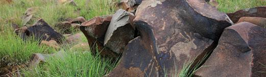 Wildebeeskuil Rock Art Centre, Kimberley, South Africa