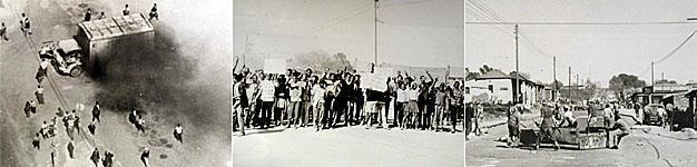1976 Riots in Alexandra Township, Gauteng